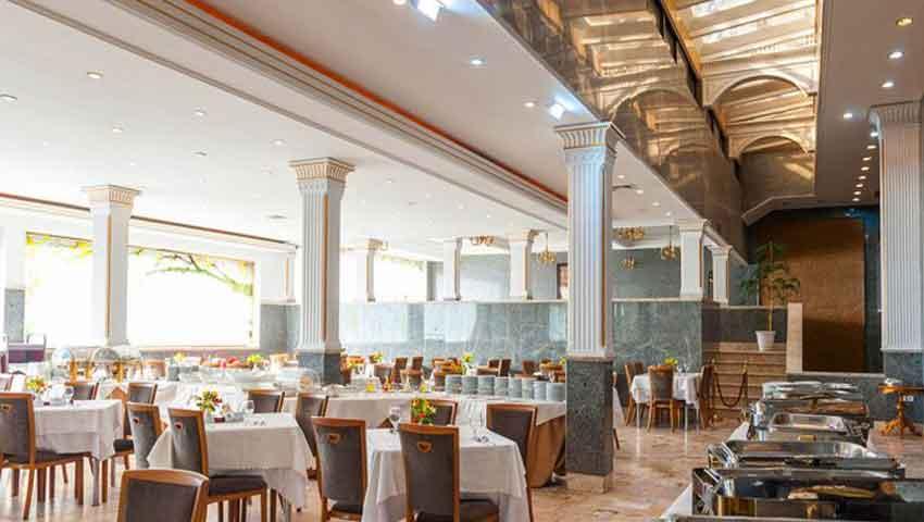 بهترین و با کیفیت ترین غذاها در رستوران هتل تارا مشهد