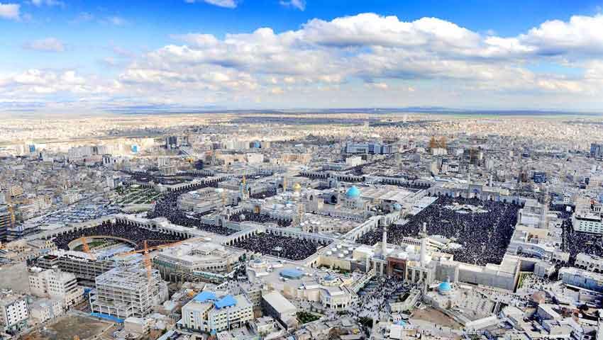 کوتاه ترین مسیر از اصفهان به مشهد