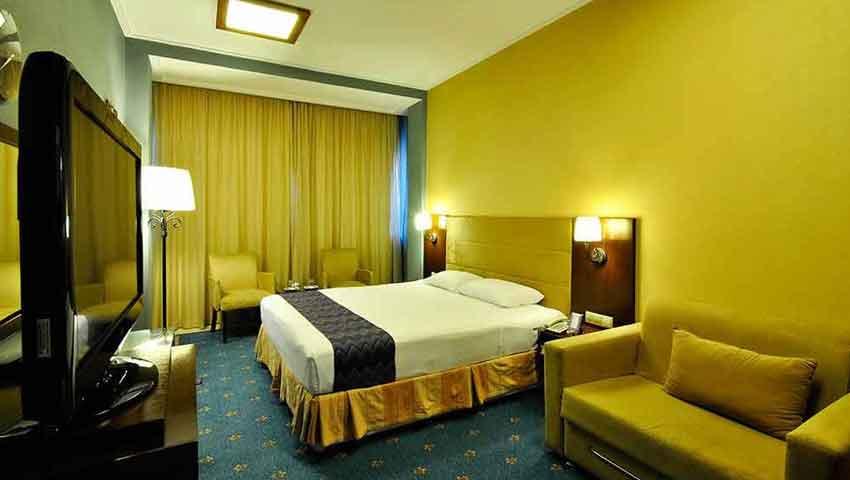 اتاق های لوکس هتل فردوس مشهد