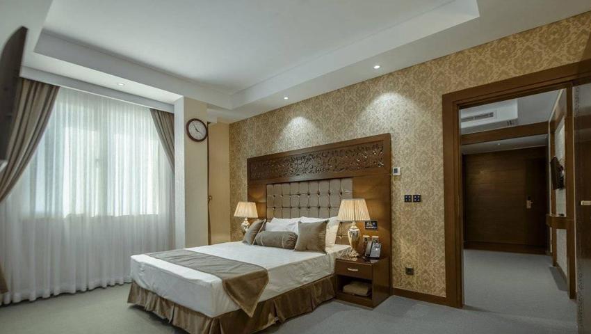 بهترین اتاق ماه عسل در هتل الماس نوین مشهد