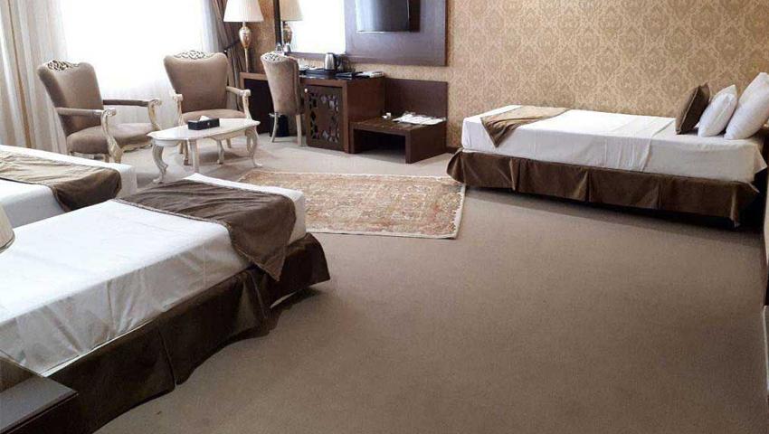 امکانات رفاهی اتاق های دوستانه و سه نفره در هتل الماس نوین مشهد