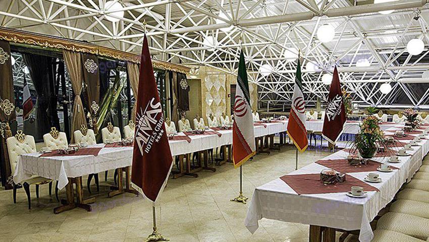 بهترین سالن اجتماعات و کنفرانس در هتل الماس نوین مشهد