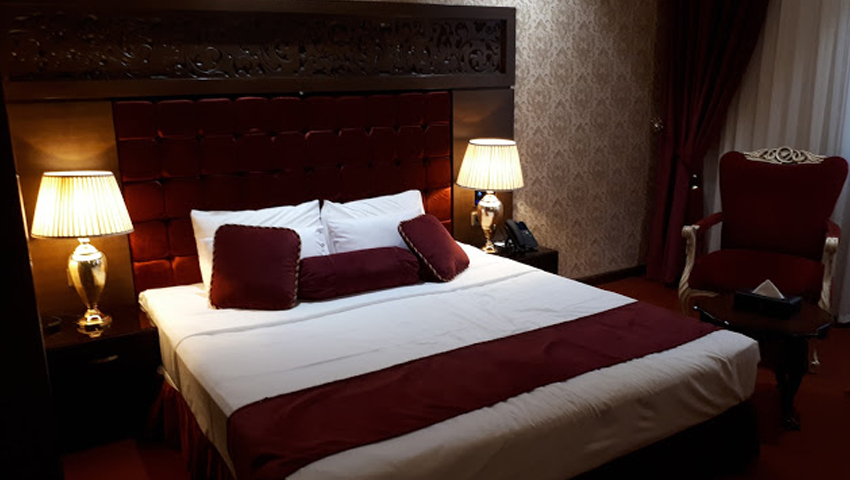 سرویس اتاق های تک نفره در هتل الماس نوین مشهد