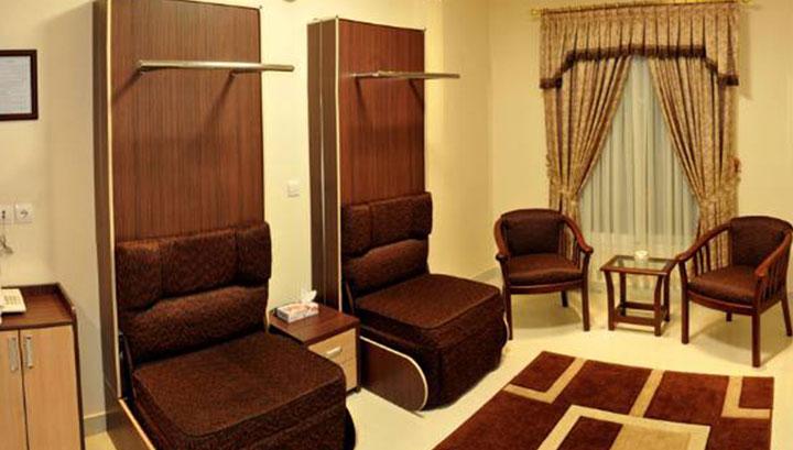 اتاق های هتل ستارگان مشهد
