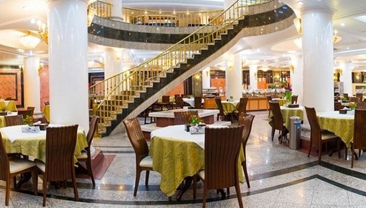 امکانات تفریحی هتل بین المللی قصر مشهد