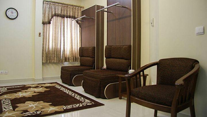 امکانات اتاق های هتل آپارتمان ستارگان مشهد
