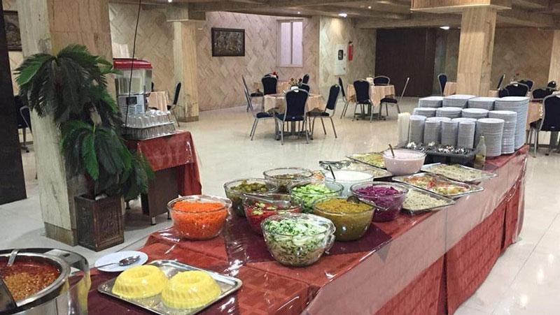 منوی غذای رستوران هتل آتی مشهد