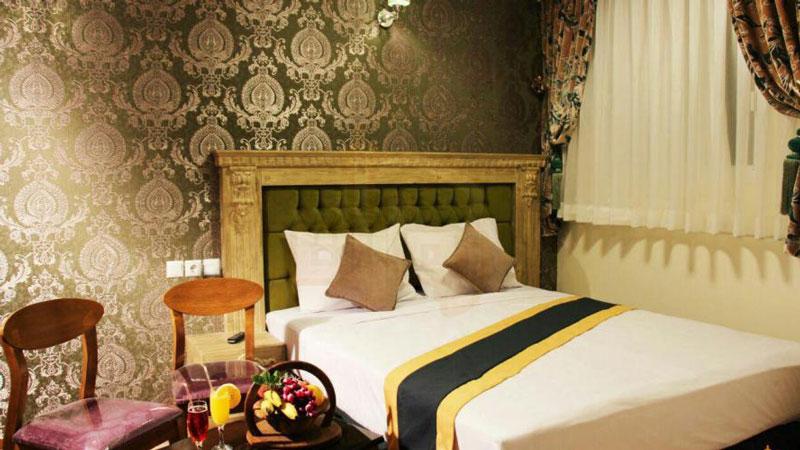 امکانات اتاق های هتل آبشار دو ستاره مشهد
