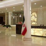 لابی هتل بزرگ پارک حیات مشهد