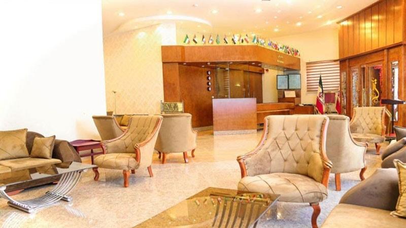لابی هتل آتی در مشهد