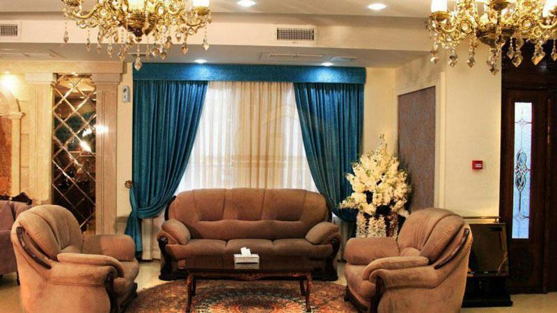 لابی هتل آبشار مشهد مقدس