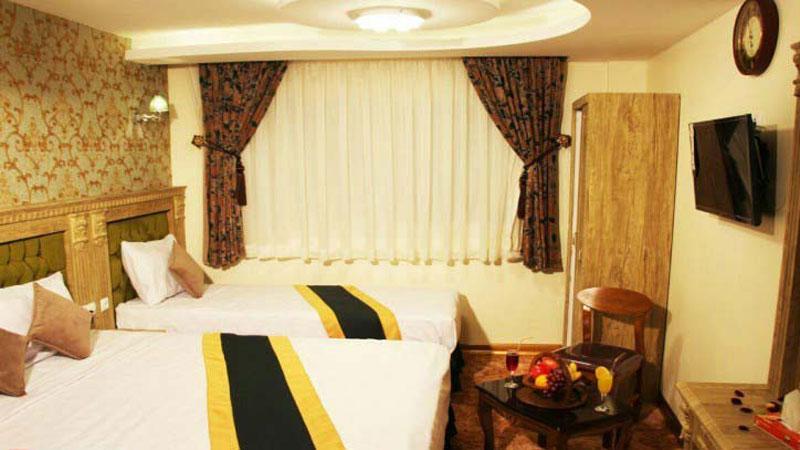 هتل آبشار بهترین هتل 2 ستاره مشهد