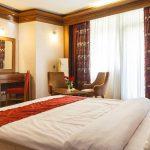 اتاق های دبل هتل خورشید تابان مشهد