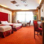 اتاق های دو تخته هتل خورشید