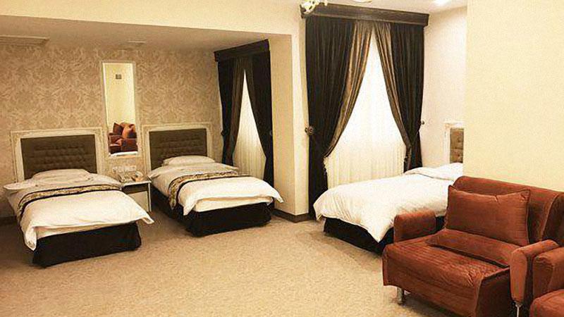 امکانات اتاق های هتل صبا مشهد مقدس