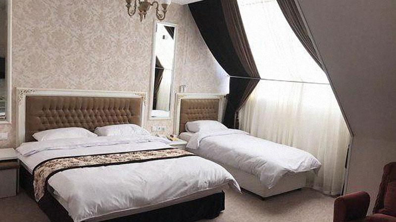 اتاق های سه تخته هتل صبا