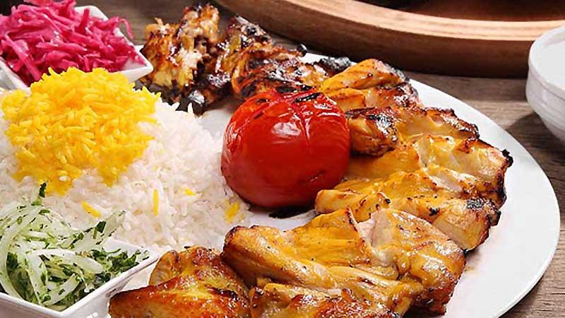 غذاهای رستوران رضایی مشهد