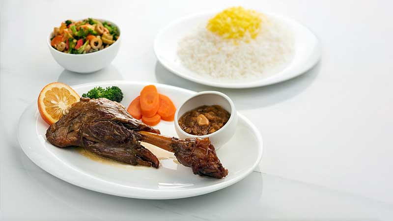معروف ترین غذای رستوران رضایی مشهد