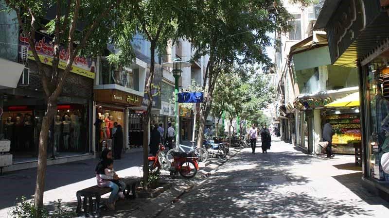 دسترسی بازار جنت مشهد