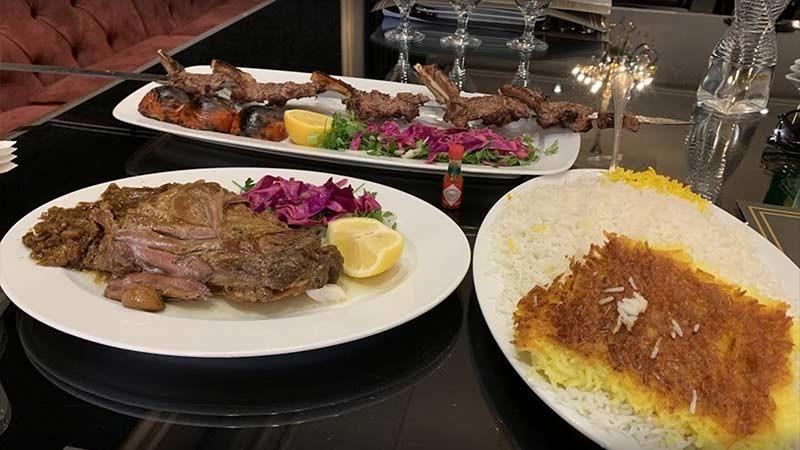 منوی رستوران امیر شاهان مشهد