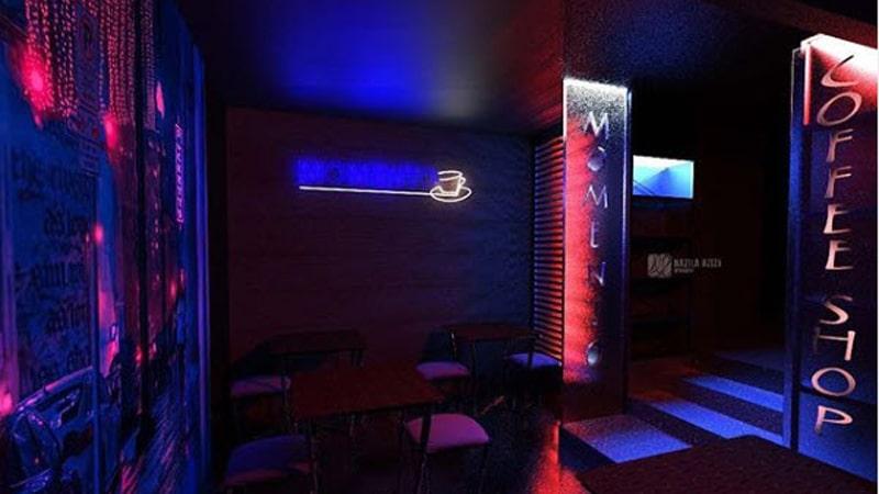 فضای داخلی کافه مومنتو مناسب برای جمع دوستانه