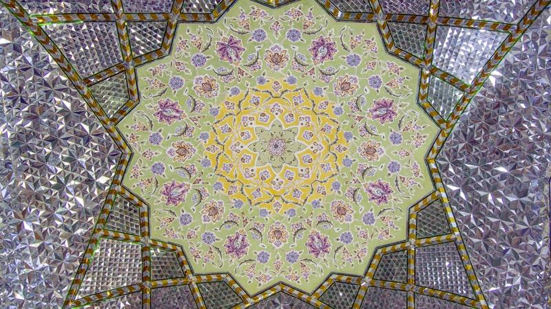 آینه کاری حرم امام رضا