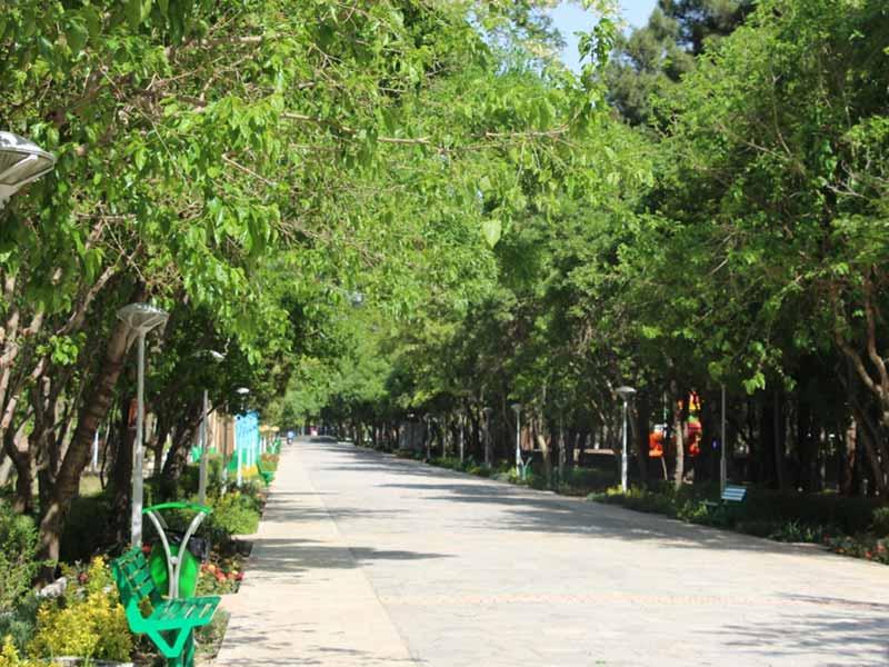 پارک مخصوص خانم ها در مشهد