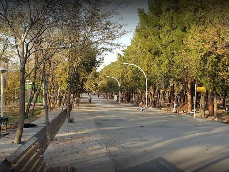 پارک بانوان گلایل مشهد