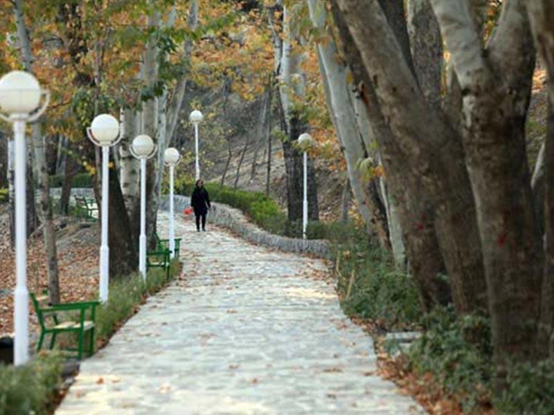 بوستان بانوان حجاب مشهد