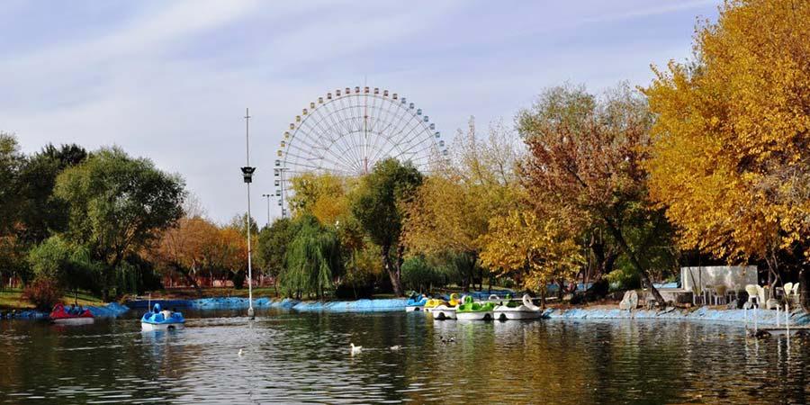 پارک های بانوان مشهد