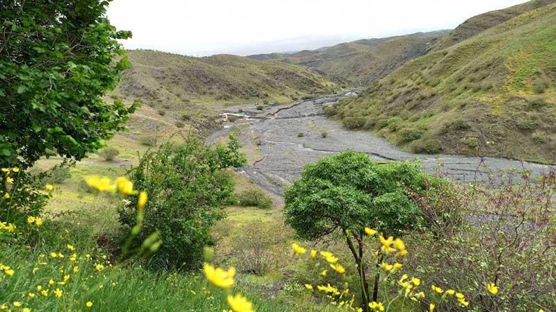 مسیر پیاده روی دره ارغوان