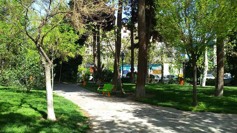 پارک باغ ملی مشهد