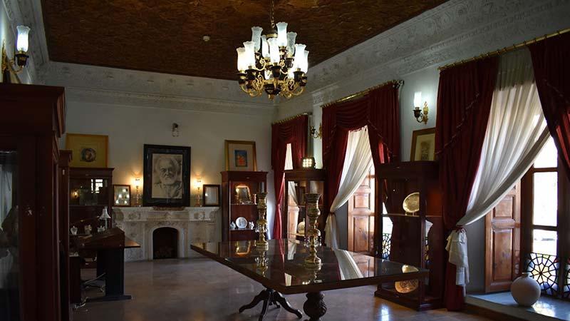 معماری جذاب خانه ملک