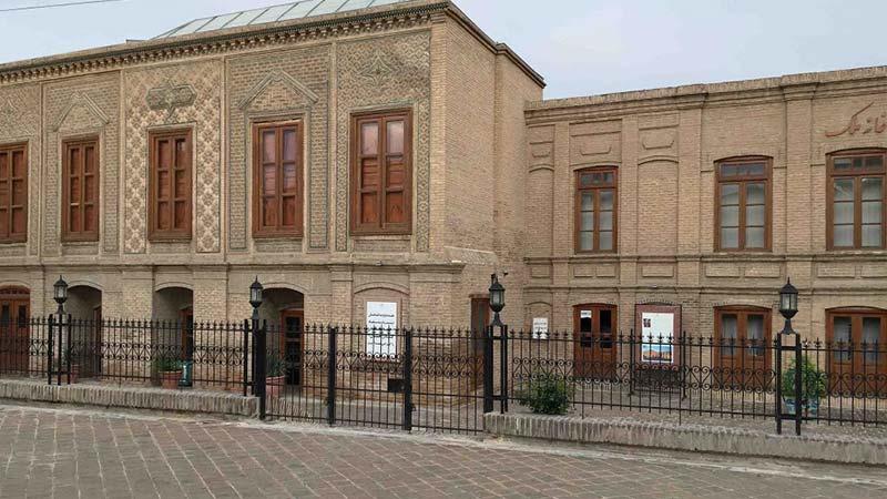 خانه تاریخ ملک مشهد