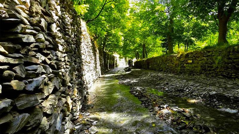 روستای نغندر،سرسبزترین روستای مشهد