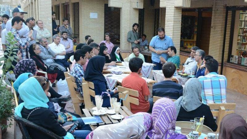 برگزاری رویداد در کافه کتاب آفتاب مشهد