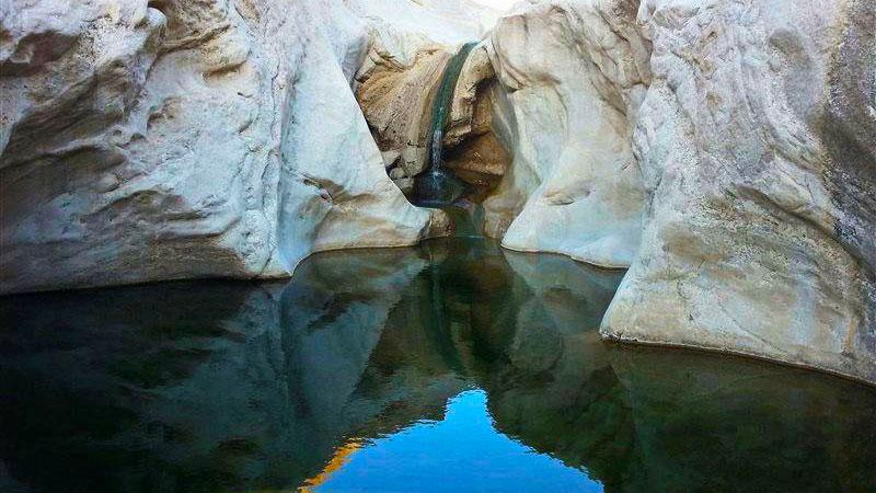 پارک طبیعی هفت حوض یکی از آثار طبیعی مشهد