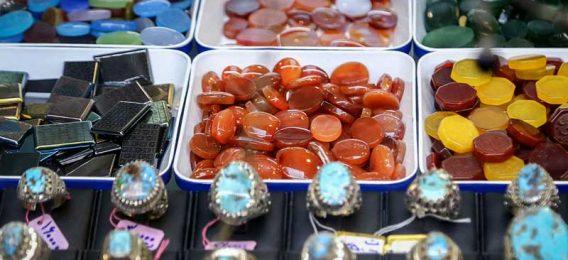 بازار سنگ قیمتی مشهد