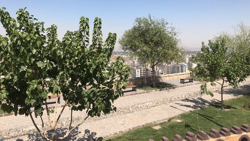 عکس کافه بام مشهد