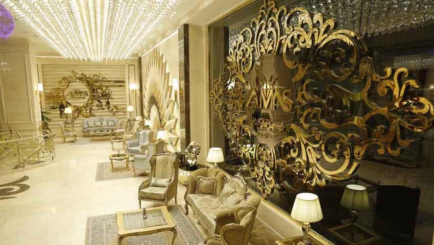 لوکس ترین هتل در مشهد