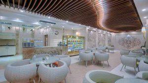 رستوران لوکس هتل الماس مشهد