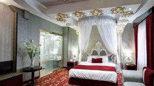 بهترین اتاق هتل الماس مشهد