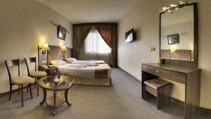 اتاق دو نفره هتل کیانا مشهد