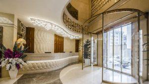 پذیرش هتل الماس نوین مشهد