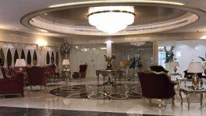 لابی هتل الماس نوین مشهد