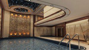 استخر سرپوشیده در هتل الماس نوین مشهد