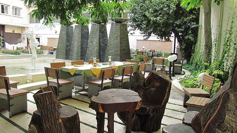آبنمای هتل تهران مشهد