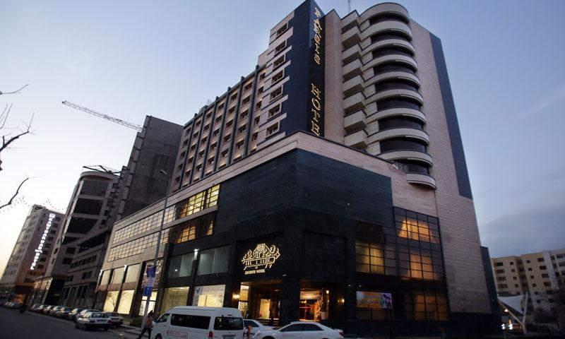 نمای هتل پارسیس مشهد