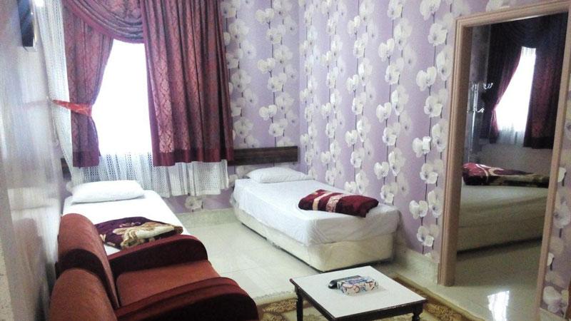 رزرو هتل دو ستاره شهریار مشهد
