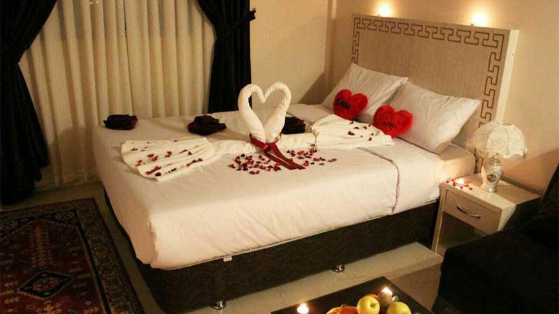 اتاق های هتل سیمرغ مشهد